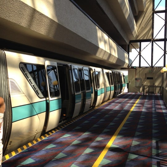 What Are Contemporary: Contemporary Monorail Station