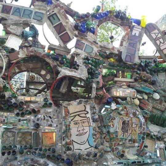 Photo taken at Philadelphia's Magic Gardens by Emily Y. on 4/8/2012