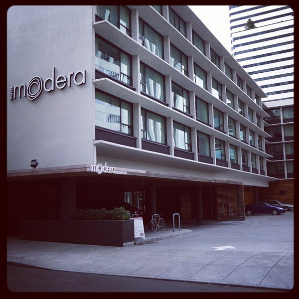 Photo taken at Hotel Modera by Evan H. on 7/23/2012