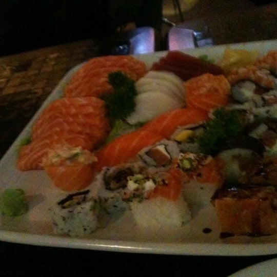 Photo taken at Joy Sushi by Priscilla N. on 4/14/2012