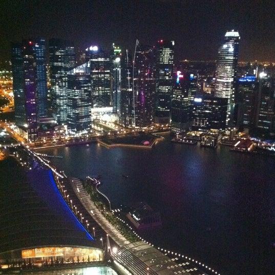 Photo taken at The Ritz-Carlton, Millenia Singapore by Ren on 12/29/2011