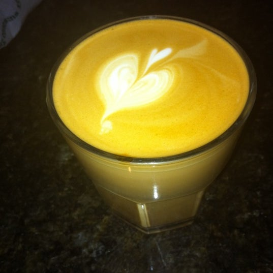 Photo taken at Transcend Coffee by Melissa A. on 10/5/2011