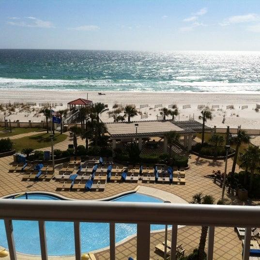 Photo taken at Hilton Pensacola Beach by Morgan on 11/9/2011