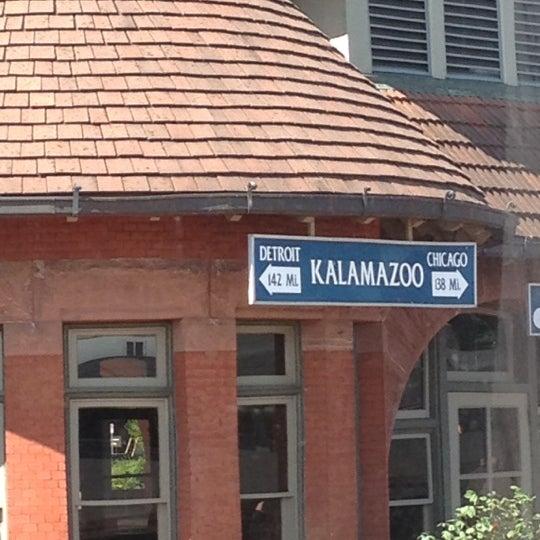 Photo taken at Kalamazoo Transportation Center - Amtrak (KAL) by Karly G. on 6/2/2012