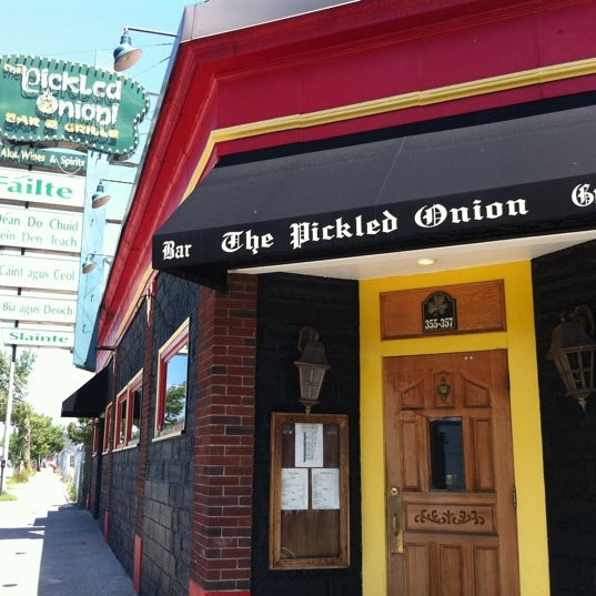 the pickled onion bar and grill beverly ma. Black Bedroom Furniture Sets. Home Design Ideas
