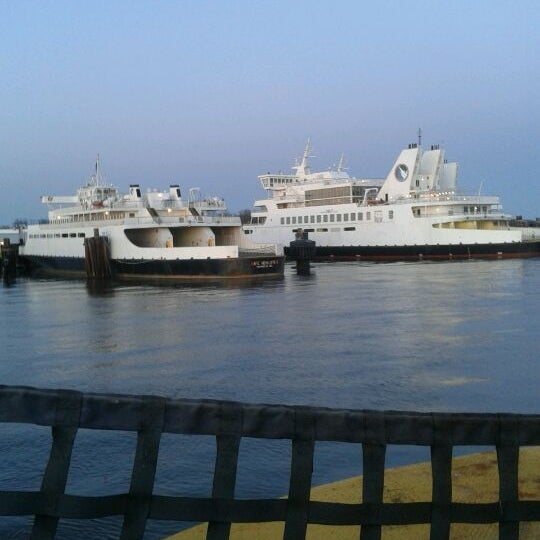 Photo taken at Cape May-Lewes Ferry | Cape May Terminal by Kimberly on 4/6/2012