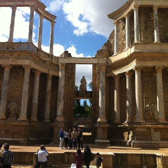 Photo taken at Anfiteatro Romano by Roy O. on 4/30/2012