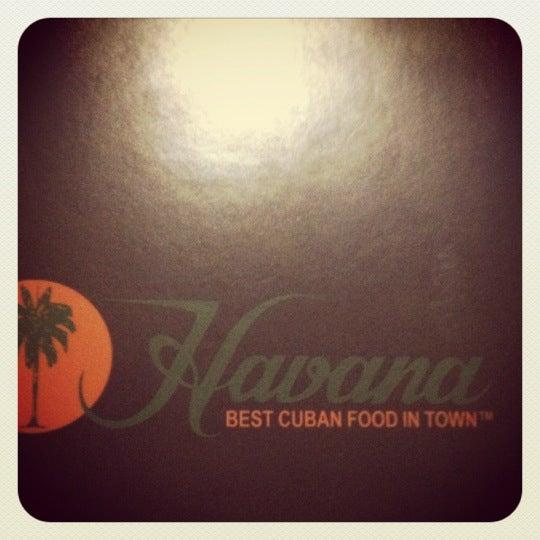 Photo taken at Havana Restaurant by Ridgely B. on 2/20/2012