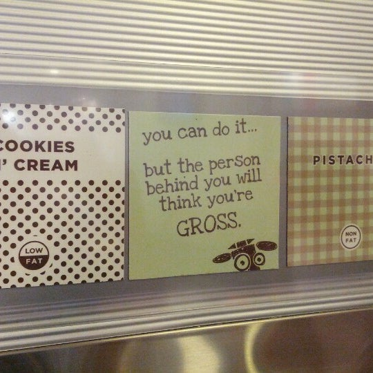 Photo taken at Smart Cow Yogurt Bar by Kevin R. on 8/25/2012