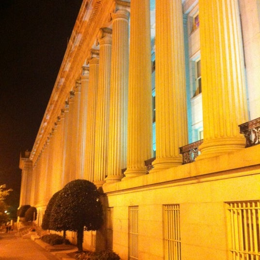 Photo taken at US Department of the Treasury by Jesse H. on 7/24/2012