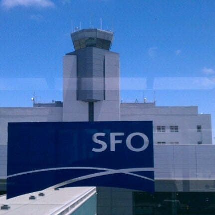 Photo taken at San Francisco International Airport (SFO) by Wiley G. O. on 7/5/2012