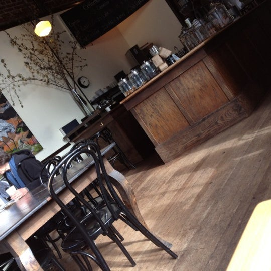 Photo taken at Coffeehouse Northwest by jeff b. on 4/27/2012