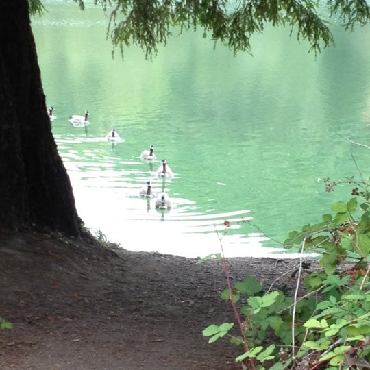 Photo taken at Lake Ilsanjo by Alexandra F. on 8/6/2012