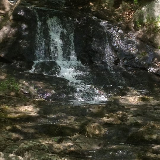 Photo taken at Jewell Falls by Mandy C. on 5/20/2012