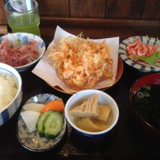 Photo taken at 食堂さくら屋 by kosana m. on 6/9/2012