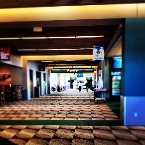 Photo taken at Eugene Airport (EUG) by Christopher L. on 7/13/2012