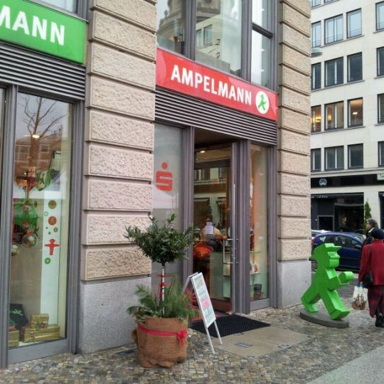 Photo taken at AMPELMANN Shop by Regis S. on 1/2/2012