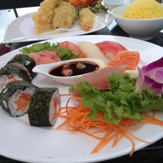 Photo taken at Sushi Thai Too by Deborah McGarry (. on 9/3/2012