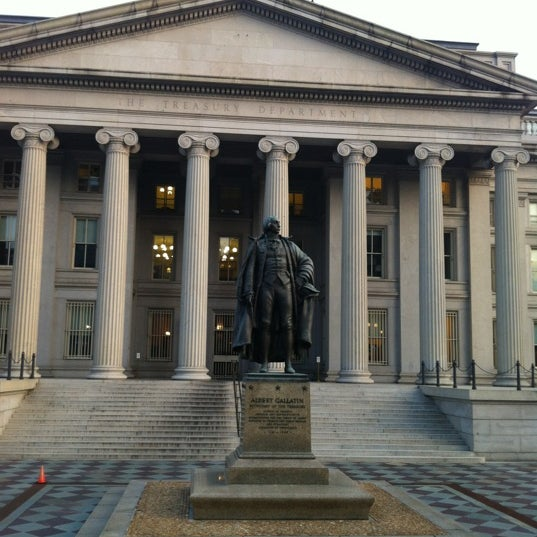 Photo taken at US Department of the Treasury by Scott M. on 6/9/2012