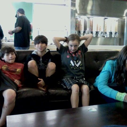 Photo taken at Smart Cow Yogurt Bar by April G. on 10/17/2011
