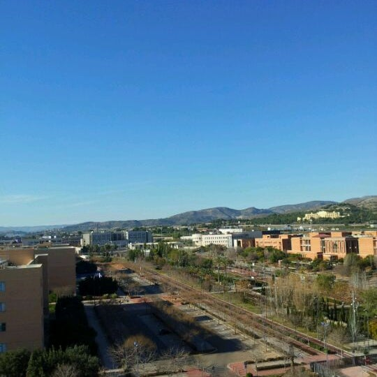 Photo taken at Universitat Jaume I (UJI) by Jose R. on 1/22/2012