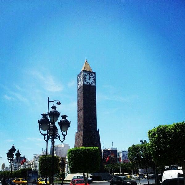 Photo taken at Avenue Habib Bourguiba I شارع الحبيب بورقيبة by Charfeddine R. on 6/25/2012