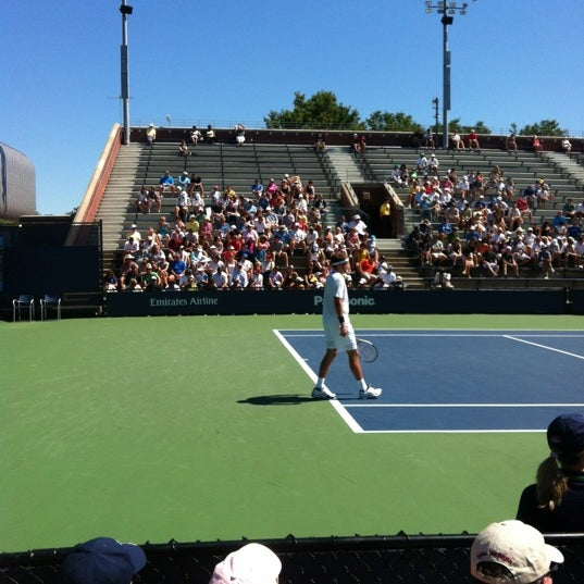 Photo taken at 2014 US Open Tennis Championships by Hadley H. on 8/29/2012
