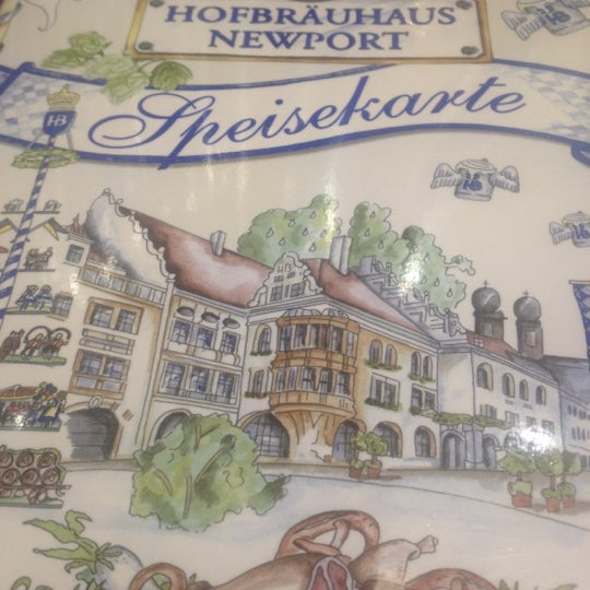 Photo taken at Hofbräuhaus Newport by Fileme U. on 6/26/2012