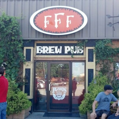 Photo taken at Three Floyds Brewery & Pub by Derek C. on 7/20/2012