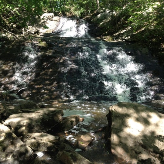 Photo taken at Jewell Falls by Andrea M. on 6/10/2012