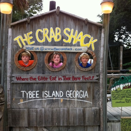Tybee Island Seafood Restaurant Sign