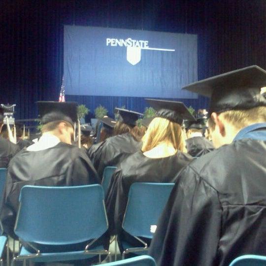 Photo taken at Bryce Jordan Center by Tom P. on 12/17/2011