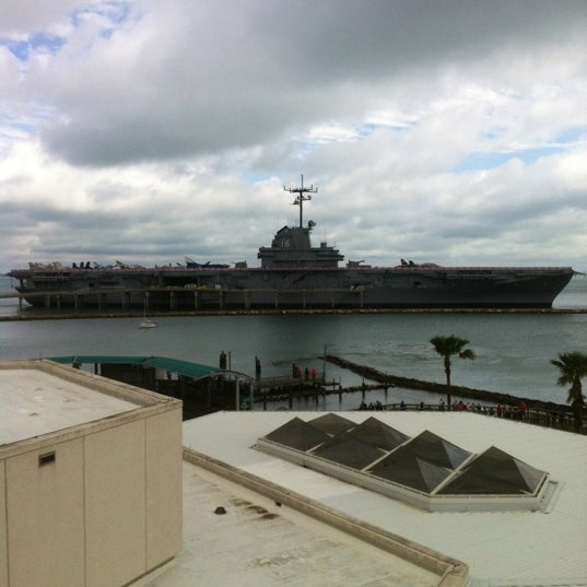 Photo taken at USS Lexington Museum On The Bay by Shane K. on 2/18/2012