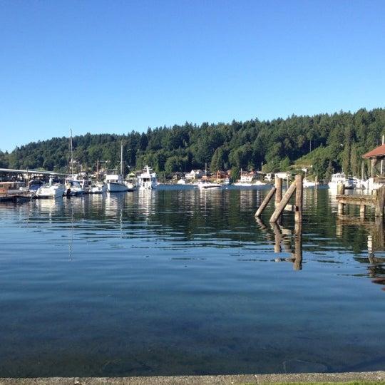 Photo taken at Gig Harbor Waterfront by Larishna C. on 8/5/2012