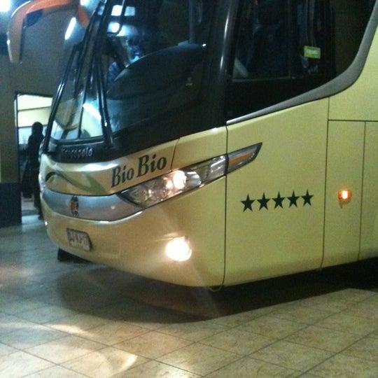 Photo taken at Terminal Buses Bio Bio Victoria by Gerald T. on 5/16/2012