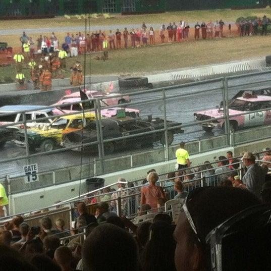 Photo taken at Harrington Raceway & Casino by Kat on 7/28/2012