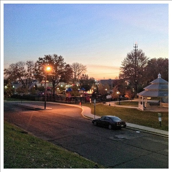 Photo taken at Lyndhurst Town Hall Park by Steven S. on 11/2/2011