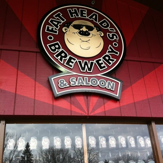 Photo taken at Fat Head's Brewery & Saloon by Jack T. on 2/18/2012