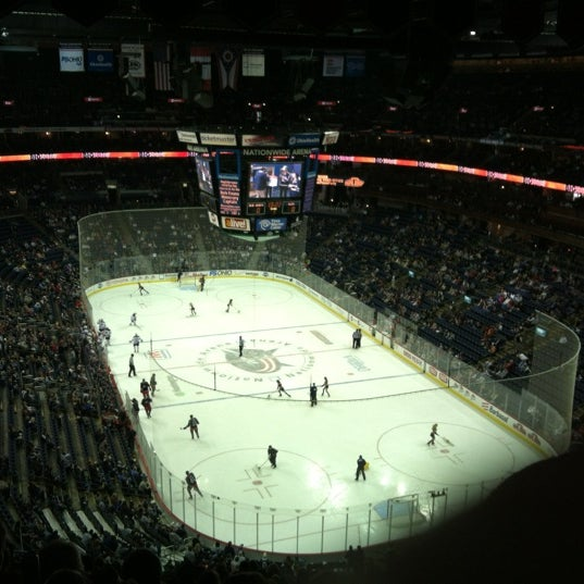 Photo taken at Nationwide Arena by Matthew B. on 3/25/2012