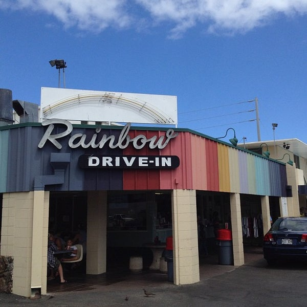 Photo taken at Rainbow Drive-in by Steve C. on 5/15/2012