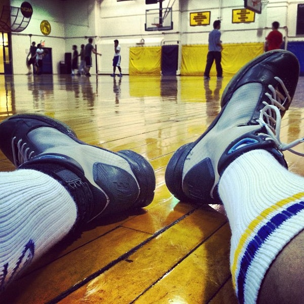 Photo taken at Pace University Gym by CJ B. on 4/10/2012
