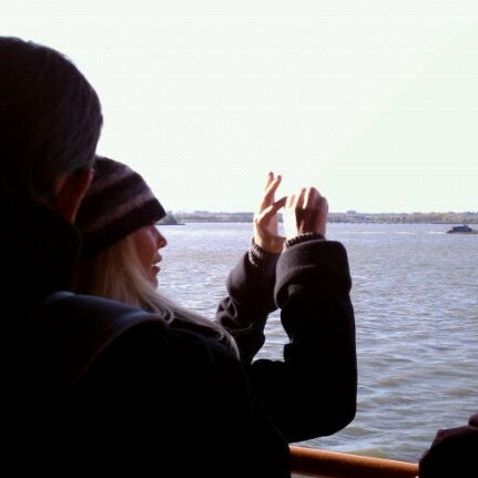 Photo taken at Staten Island Ferry Boat - Guy V. Molinari by Brazen L. on 10/22/2011