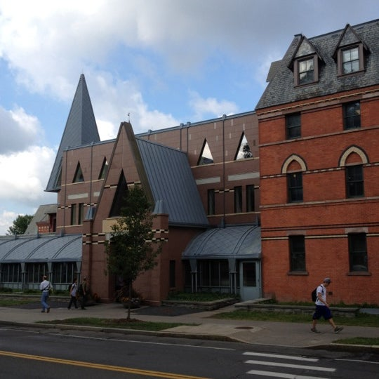Photo taken at Sage Hall by Jae J. on 8/28/2012