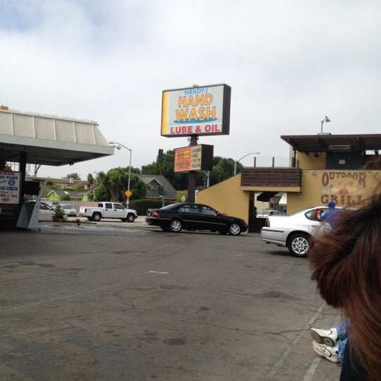 Photo taken at Handy J Car Wash by Lucinda J. on 8/1/2012
