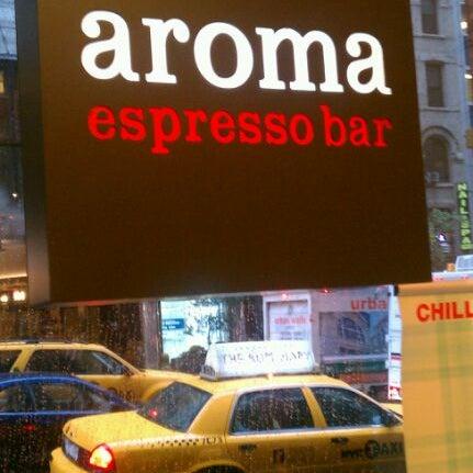 Aroma Cafe New York Menu