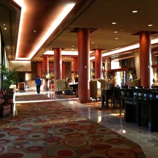Photo taken at Marriott Marina Del Rey by Rob K. on 2/22/2011
