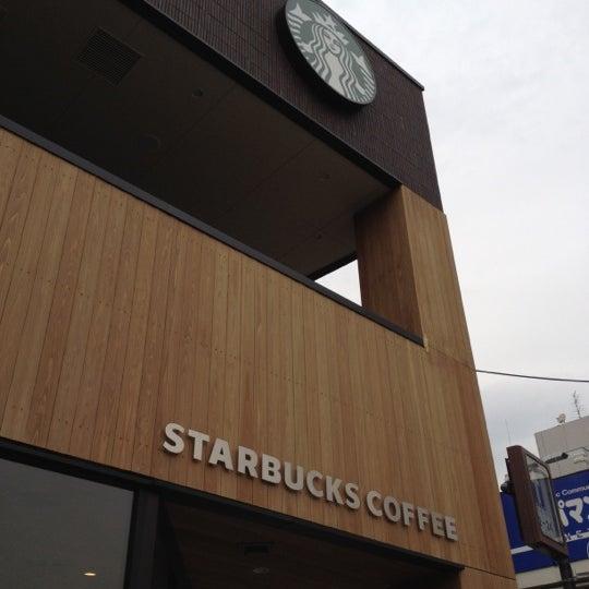 Photo taken at Starbucks Coffee 神楽坂下店 by kunitenten on 3/22/2012