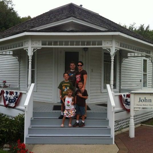 Photo taken at John Wayne Birthplace Museum by Rudy K. on 9/2/2012