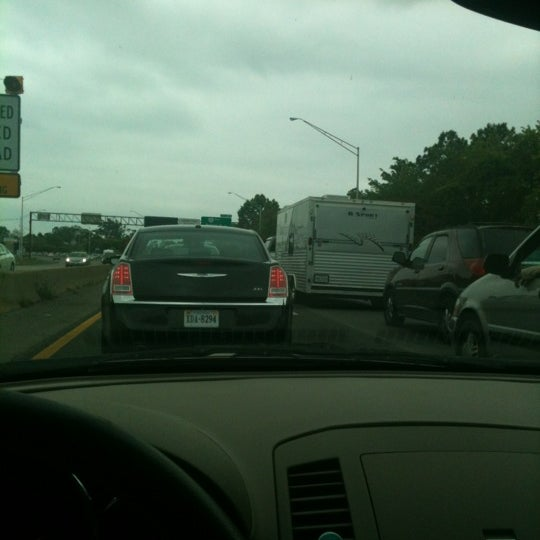 Photo taken at HRBT by Michael G. on 4/29/2012