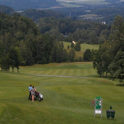 Photo taken at Ypsilon Golf Resort Liberec by Michal M. on 8/5/2012